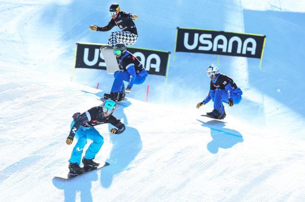 Lucas Eguibar, 4º en el snowboardcross de los Mundiales de Park City (USA)
