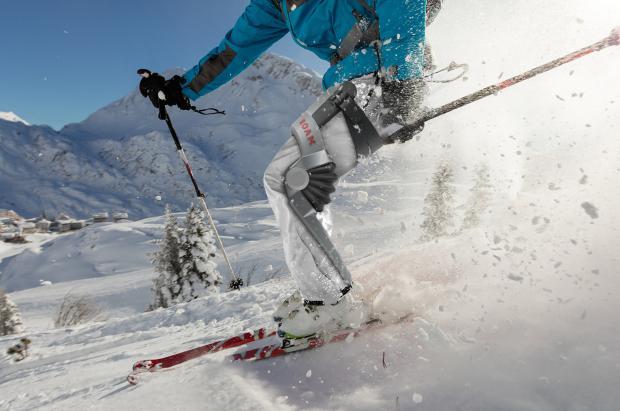 Los exoesqueletos en el mundo del esquí han llegado para quedarse ¿esquiar sin parar y sin dolor?