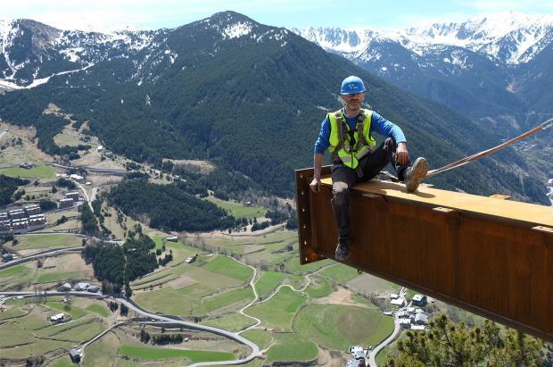 Canillo inaugurará en junio un Mirador con una sensación de caída libre de 500 metros