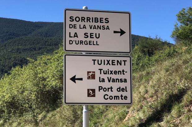 La Diputación de Lleida asumirá el 45% del coste de reabrir la carretera del Port del Comte