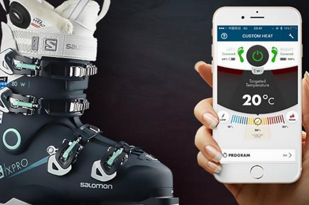 Controla el calor de tus botas de esquí Salomon desde la app de tu móvil