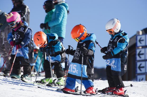 La Audi Salomon Quest, la competición de esquí más divertida, ataca de nuevo