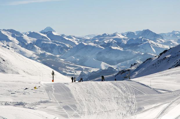 Imagen de la estación de esquí de San Isidro