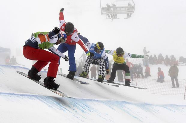 Francia e Italia consiguen el oro en la Copa del Mundo de snowboard celebrada en La Molina