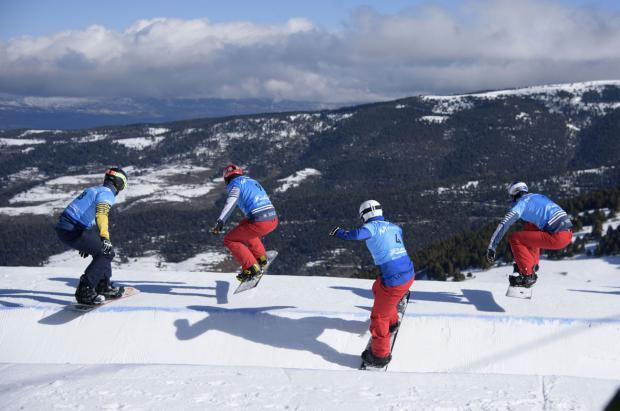Austria y la República Checa se adjudican el oro en la Copa del Mundo SBX FIS de La Molina