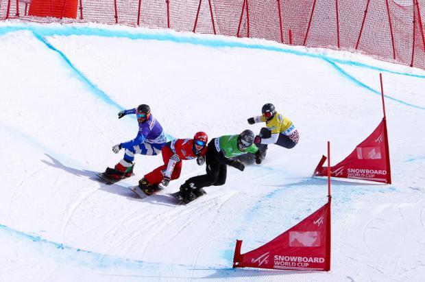 4º puesto para Regino Hernández y Lucas Eguibar en la final de por equipos SBX en Erzurum