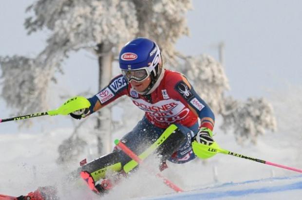 Mikaela Shiffrin impone su ley en el Slalom de Killington