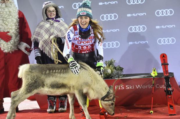 Shiffrin se adjudica el primer slalom en Levi y se coloca líder de la Copa del Mundo de Esquí
