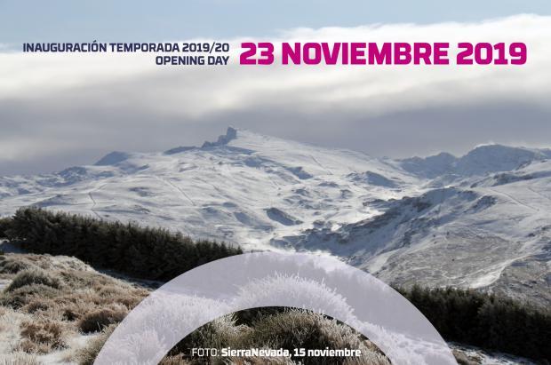 Sierra Nevada iniciará la temporada de invierno el 23 de noviembre