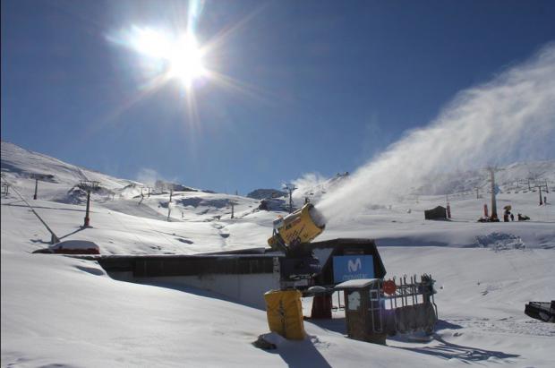 Las nevadas mejoran las condiciones de Sierra Nevada que llega a los 16 km de pistas