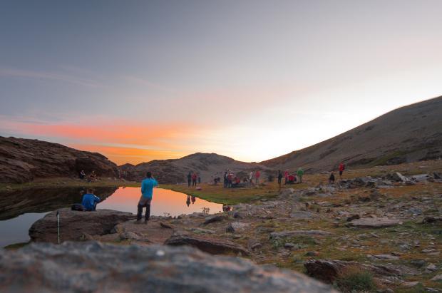 Sierra Nevada cierra la temporada de verano con 40.000 visitantes