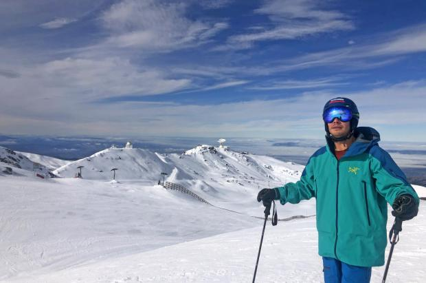 Sierra Nevada alcanza los 40 kilómetros y un desnivel esquiable de 1.100 metros