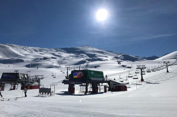 Sierra Nevada terminará a temporada de invierno el domingo 18 de abril