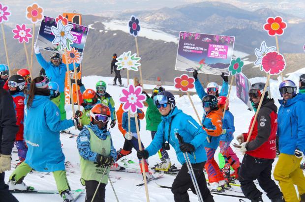 Sierra Nevada lanza la primavera con 3.000 Forfaits a 20 euros desde hoy