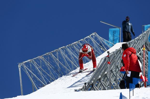 4 esquiadores aspiran al Globo de Cristal en la Copa del Mundo de Speed Ski en Grandvalira