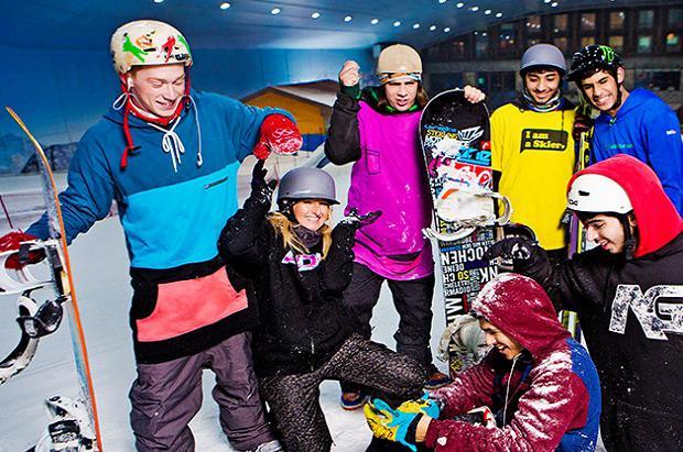 Inaugurada Ski Egypt, la primera y faraónica estación de esquí Indoor en África