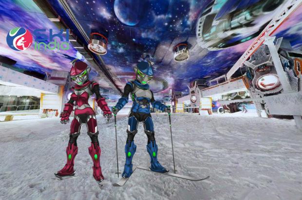 Ski India, la pista Indoor más galáctica del mundo