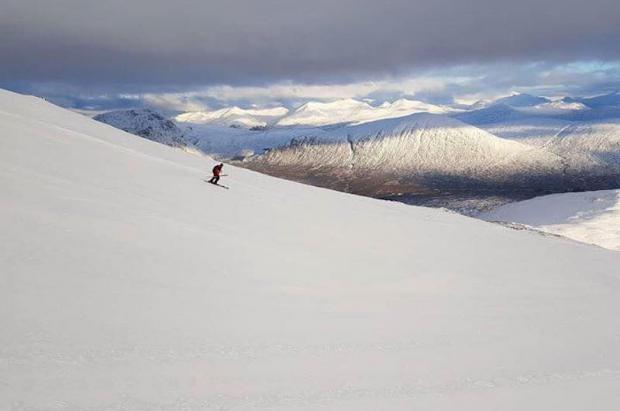 Las estaciones de esquí de Escocia superaron a los Alpes franceses en búsquedas on line