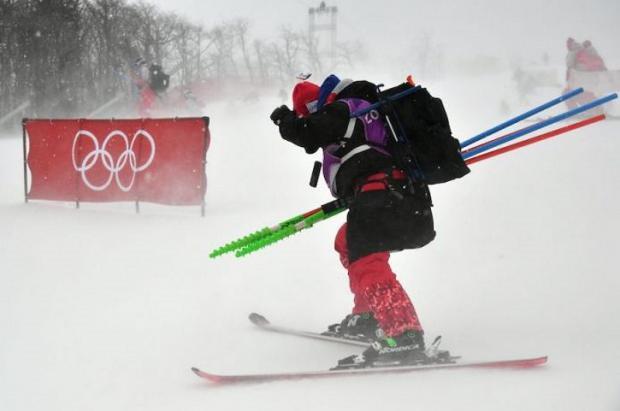 Calvario para el esquí en PyeongChang. Aplazado el slalom femenino por temporal