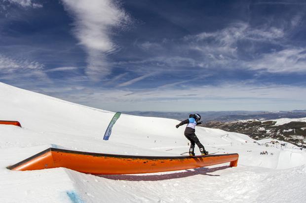 Campeonatos de España Movistar slopestyle de snowboard y esquí en Port Ainé