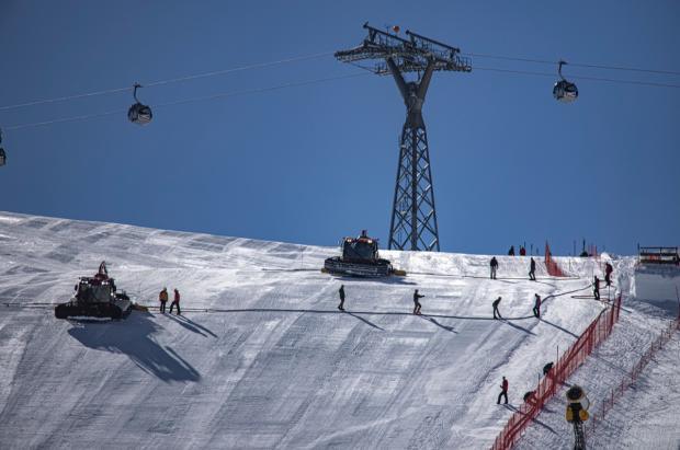 """Sölden da la bienvenida a la Copa del Mundo de Esquí de la temporada de la """"Covid"""""""