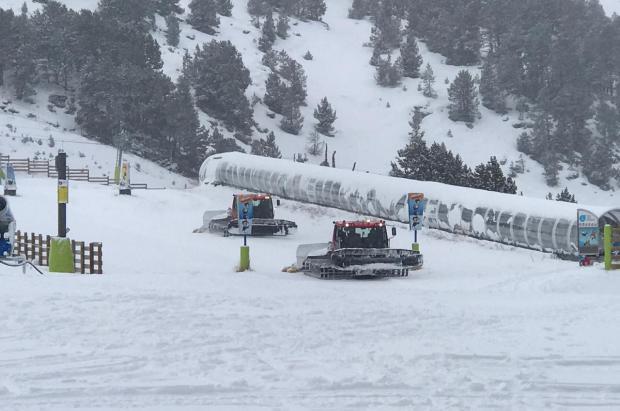 Grandvalira se apunta a los 100 km de pistas esquiables este fin de semana