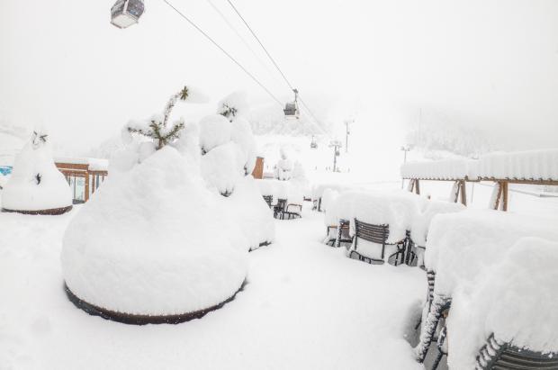 Las nevadas de la noche aumentan los grosores de Grandvalira hasta los 160 cm