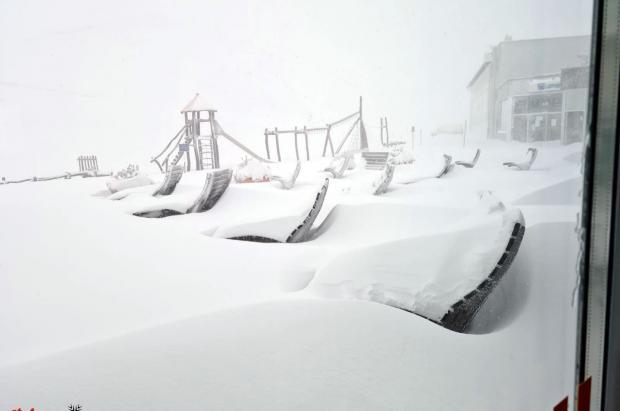 La irrupción polar en los Alpes deja récords de nieve acumulada en algunas zonas
