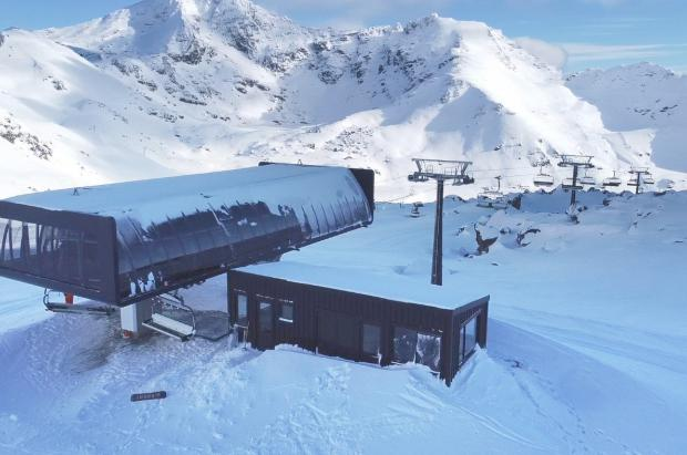 The Remarkables por fin inaugura el telesilla de 6 plazas Sugar Bowl Express