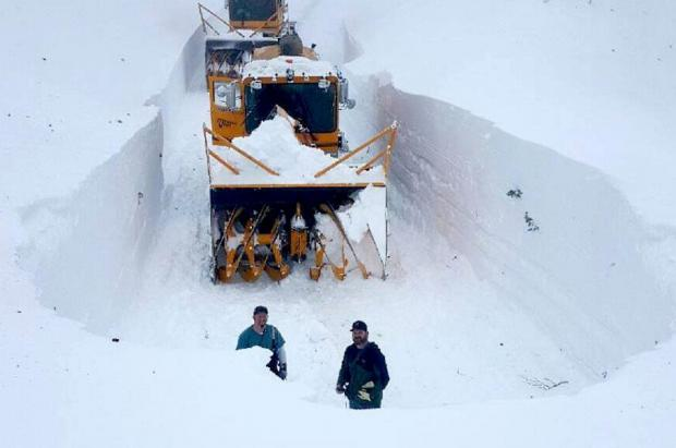 Top 10 estaciones con más nieve de EEUU temporada 2016/17