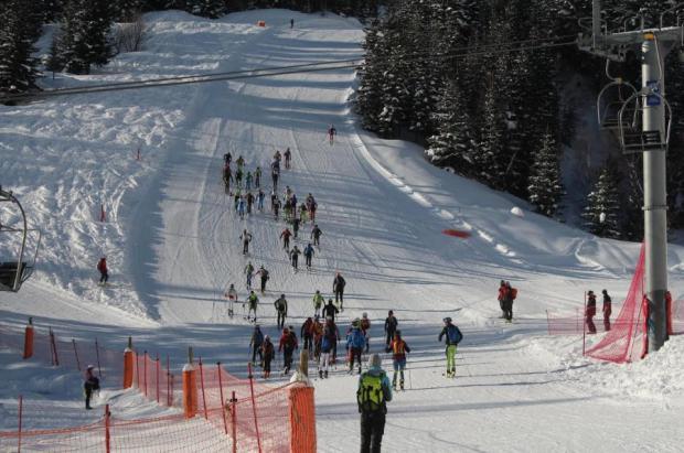 Nueva edición de la carrera Alt Pallars Certascan en la estación de Tavascan