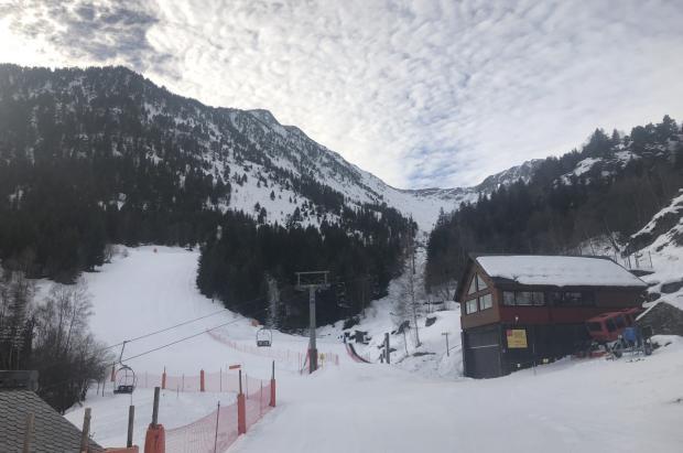 Tavascan abre las pistas de esquí alpino
