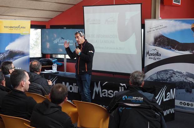 El líder de la nieve producida, TechnoAlpin presenta cañones más eficientes y sostenibles