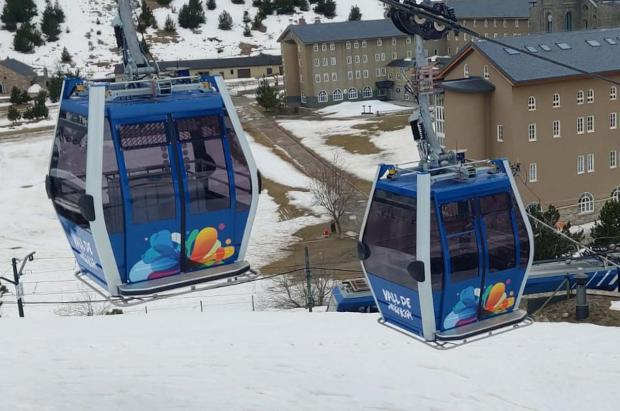 Vall de Núria estrena el renovado telecabina convertido en un teleférico