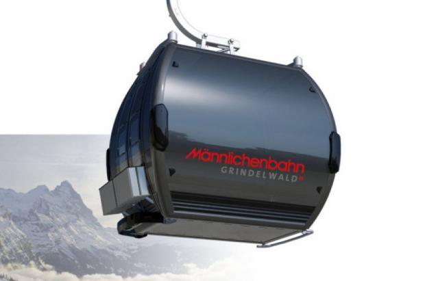 Así es el nuevo telecabina Grindelwald-Männlichen que se inaugurará el 14 de diciembre
