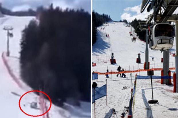 un telecabina se desploma sin causar víctimas en Pra Loup