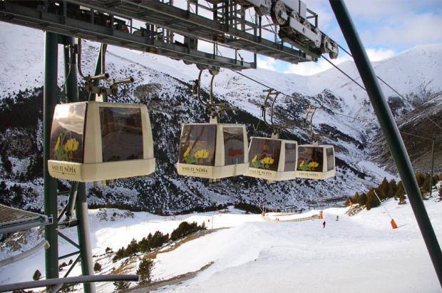FGC renueva el telecabina de Vall de Núria