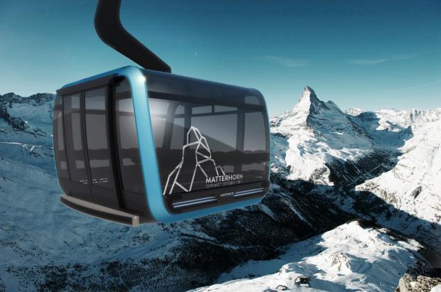 El nuevo Matterhorn Glacier Ride de Zermatt tendrá cabinas decoradas con cristales Swarovski