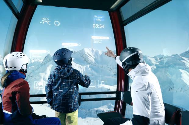 Así serán los telecabinas y teleféricos del futuro, interactivos e inteligentes