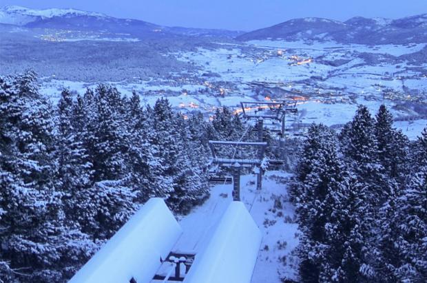 Cinco estaciones de esquí cerradas preventivamente en los Pirineos orientales