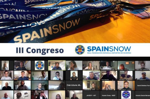El III Congreso RFEDI–SPAINSNOW se celebrará los días 8, 9 y 10 de junio