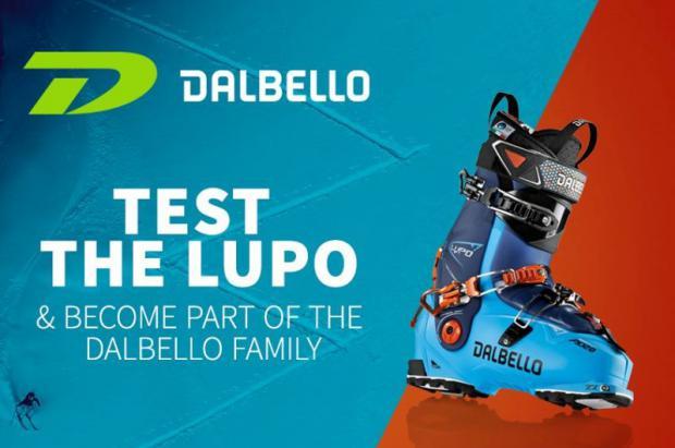 ¡Date prisa freerider! Rellena un formulario y prueba la nueva LUPO de Dalbello