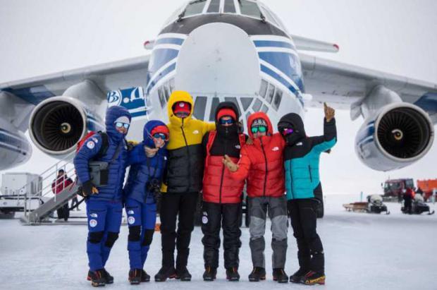 """En Noviembre se estrena Antarctica la nueva y """"helada"""" película de The North Face"""