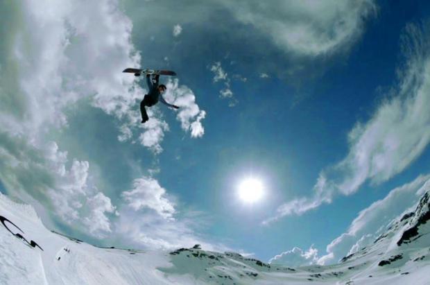 Obligatorio para snowboarders: The ManBoys ripando a gusto en Whistler