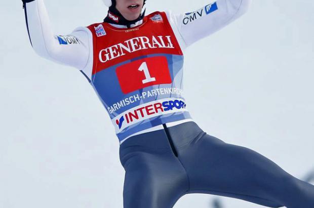El austriaco Thomas Diethart campeón en Garmisch-Partenkirchen (Alemania) en la Copa del Mundo de saltos de esquí nórdico