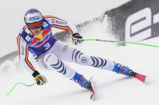 Thomas Dressen se convierte en el primer alemán en ganar el descenso de Garmisch desde 1992