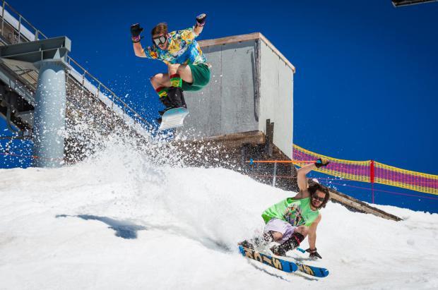Timberline Lodge única estación de esquí abierta en toda Norteamérica