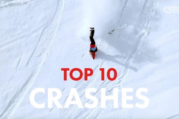 Vídeo: Las 10 caídas más espectaculares del Freeride World Tour 2021