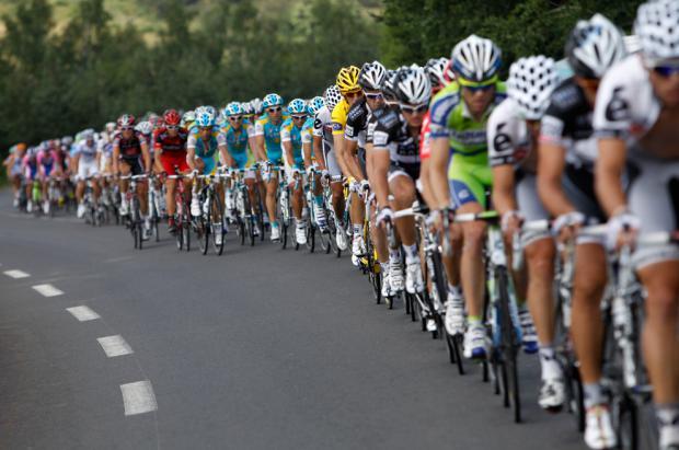El Valle de Arán con ambiente cliclista espera al Tour de Francia