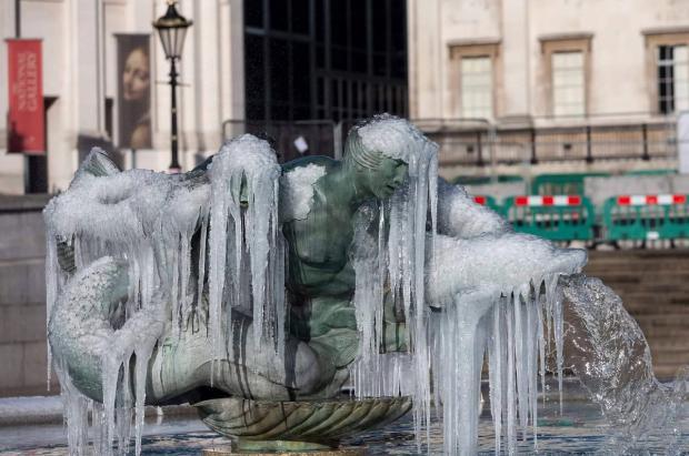 """España se salva de """"La bestia del Este"""", que cubre de nieve buena parte de Europa"""
